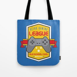 Geeky Gamer Chic Classic Vintage Gaming PSX Inspired Vintage Gamer League Old School Cool Tote Bag