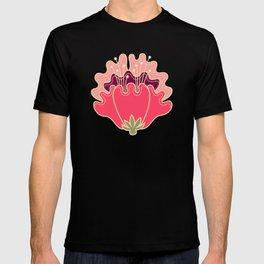 flat flowers - pattern T-shirt