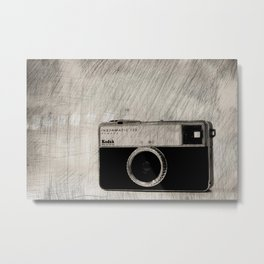 Instamatic Metal Print