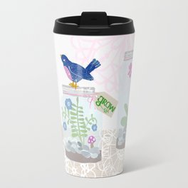 Love, grow, bloom Travel Mug