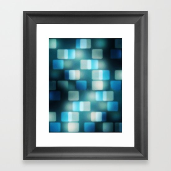 Movie Lights Framed Art Print