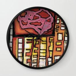 Urban abstract Wall Clock