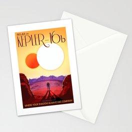 Kepler 16b Stationery Cards