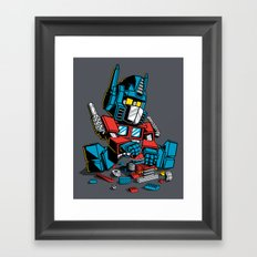 AUTOBLOCKS Framed Art Print