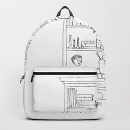 The Bookshelf Backpack