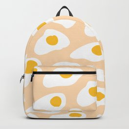 Eggs pattern on pink Backpack