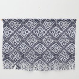 Bohemian Blue | Mud Cloth Style Wall Hanging