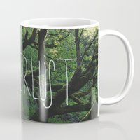 wanderlust Mugs featuring Wanderlust by Leah Flores