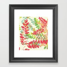 Maribou Framed Art Print