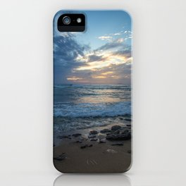 Puerto Rico Stormy Sunset iPhone Case