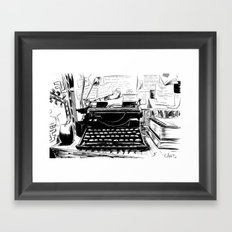 Shakespeare and Company Framed Art Print