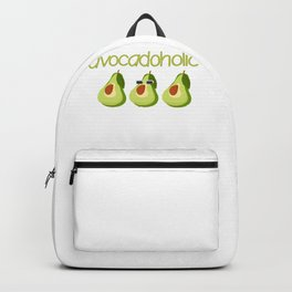 Avocado Lover Cool Avodadoholic Backpack