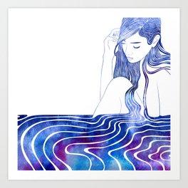 Nereid XVI Art Print