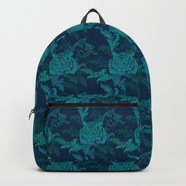Tiger Greenery Backpack