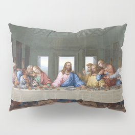 The Last Supper by Leonardo da Vinci Pillow Sham