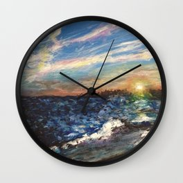impressMe sunset Wall Clock