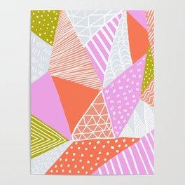 buena vista patchwork Poster