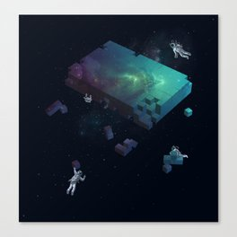 Constructing the Cosmos Canvas Print