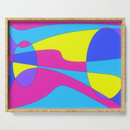 Colors in Sound Neon Serving Tray