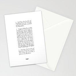 Southwarke Knobbefticke Stationery Cards