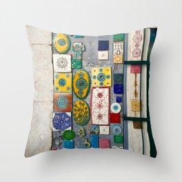 The Tiles of Lisbon Throw Pillow