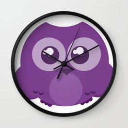 Fukurou (Owl) Wall Clock