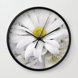 White African Daisy at Barthels Farm Market Wall Clock