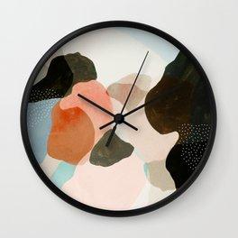ambersands Wall Clock
