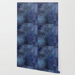Night Sky Stars Galaxy | Watercolor Nebula Wallpaper