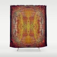 fractal Shower Curtains featuring Fractal by kira_komandrovskaya