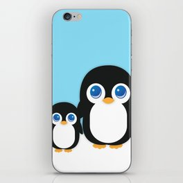 Adorable Penguins iPhone Skin