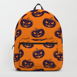 Scary Face Pattern Backpack