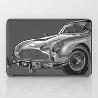james bond iPad Cases featuring THE Bond Car. by andyclo