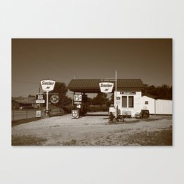 Route 66 Gas Station 2012 Canvas Print