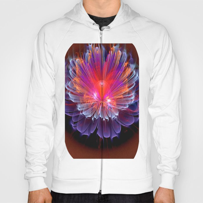 Neon Flower - A Vision all Aglow Hoody