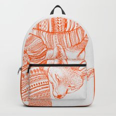 FOX IN THE SNOW Backpacks