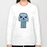 celtic Long Sleeve T-shirts featuring Celtic Punisher by ronnie mcneil