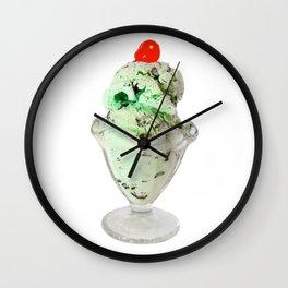 Pistachio Ice Cream Wall Clock