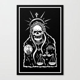 Santa Muerte Canvas Print