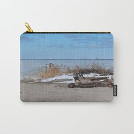 Maumee Bay in Winter III Carry-All Pouch