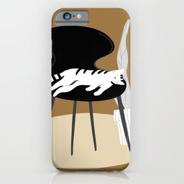 Golden Laziness iPhone Case