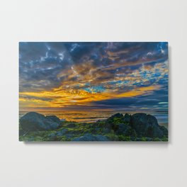 Sunset Sky Over Laguna Beach Metal Print