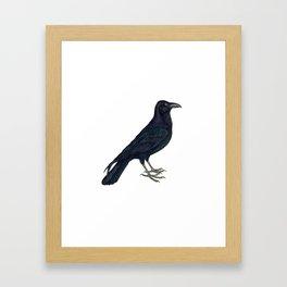 Hark! The Raven Cries! Framed Art Print