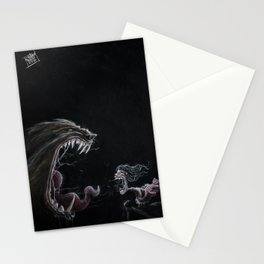 Girl and the Lycan Stationery Cards