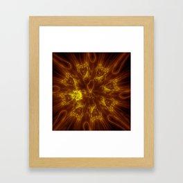 Nearing the Supernova Stage Framed Art Print