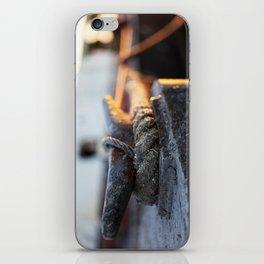 Tug boat tie down  iPhone Skin