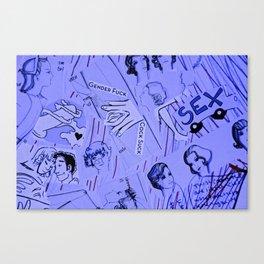 Lady Love Canvas Print