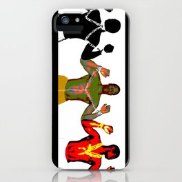 Black Men and Their Chains iPhone Case