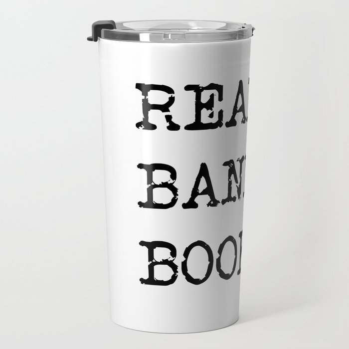 Read Banned Books Travel Mug