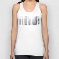 narnia Tank Tops featuring Misty Park by Lyssia Merrifield